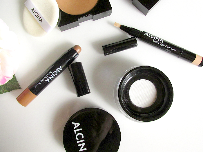 Review: ALCINA - Contouring & Highlighting mit Creme Produkten Soft Shaping Pencil & Bright Light Concealer