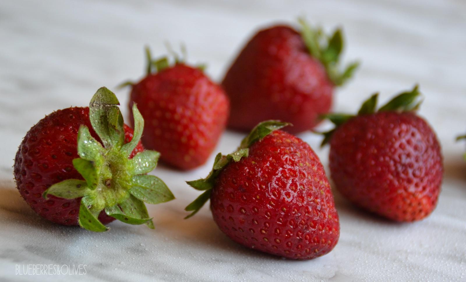 Fresas - Smoothie bowl de fresas y coco 2