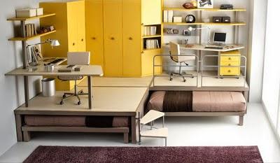 dormtorio juvenil espacio pequeño