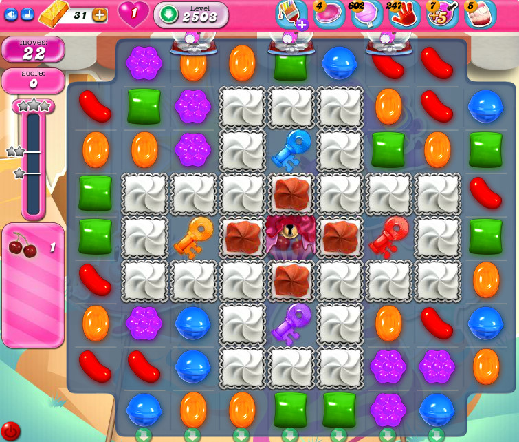 Candy Crush Saga level 2503