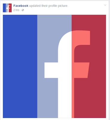 فيسبوك يتضامن مع أحداث فرنسا + ماذا رد السوري على الحادثة ؟