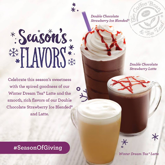 CBTL 2017 Giving Journal Flavors - Double Chocolate Strawberry and Winter Dream Latte