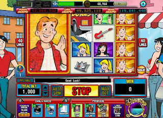 Big Archie win on Archie slots at Hit It Rich
