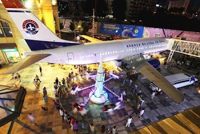 Pesawat Jadi Restoran Mewah Di Wuhan China
