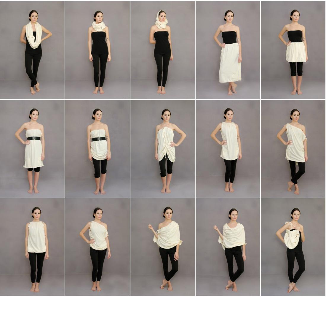 multiusos, 15 posiciones, bricomoda, moda, multifacetico, ropa