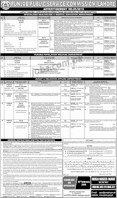 Latest PPSC Jobs 110+ Medical, Engineers, IT, Registrars & Other Posts in All Punjab Government