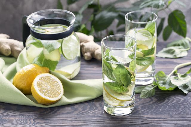 ريجيم الماء مع الأعشاب