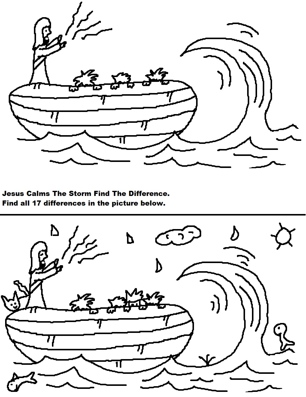 Church House Collection Blog: Jesus Calms The Storm Sunday