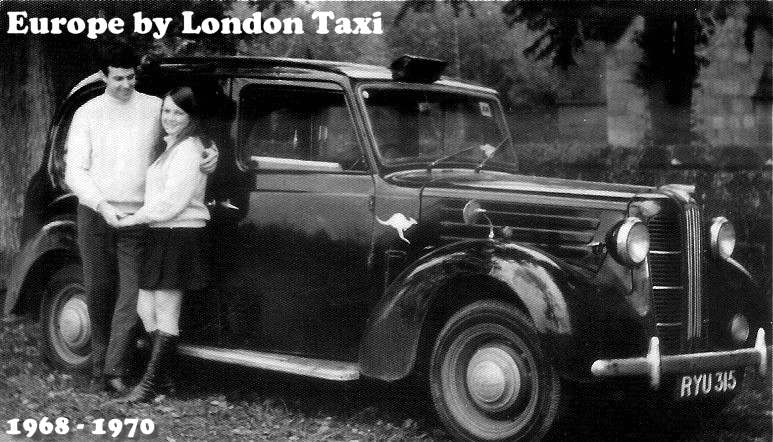 Europe by London Taxi