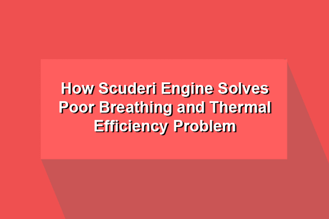 How Scuderi Engine Solves Poor Breathing and Thermal Efficiency Problem