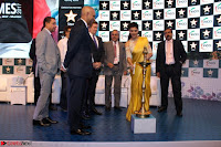 Gorgeous Jacqueline Siddharth Roy Kapur and Raj Nayak At FICCI FRAMES 2017 18.JPG