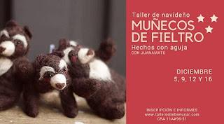 TALLER DE ANIMALES EN FIELTRO CON Juanamatú
