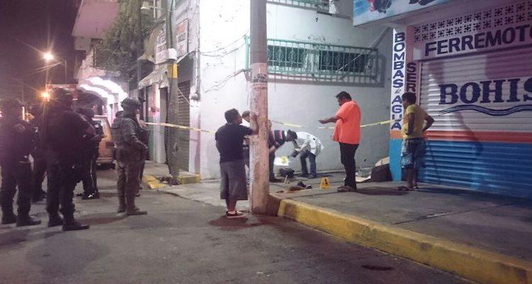 14 personas asesinadas en 24 horas en Acapulco; dos marinos, una familia y un menor de edad