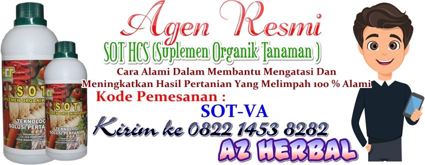 SOT HCS (Suplemen Organik Tanaman ) Asli