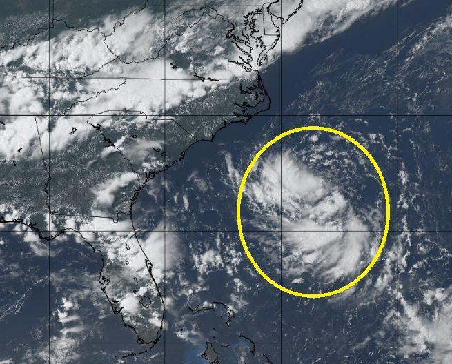 Depresión-Tropical-3-en-el-océano-Atlántico