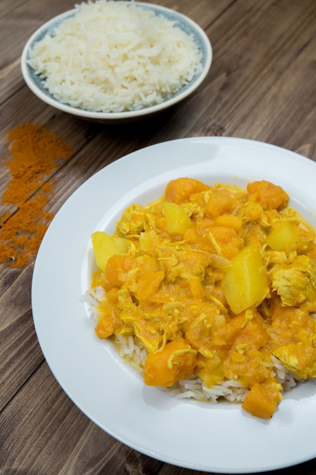 family bakery more curry k rbis kartoffel eintopf mit h hnchen. Black Bedroom Furniture Sets. Home Design Ideas