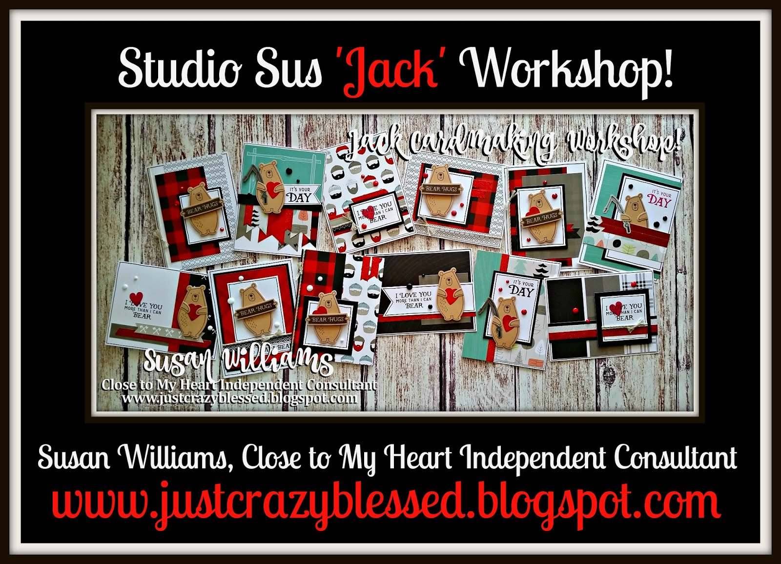 'Jack' Cardmaking Workshop!