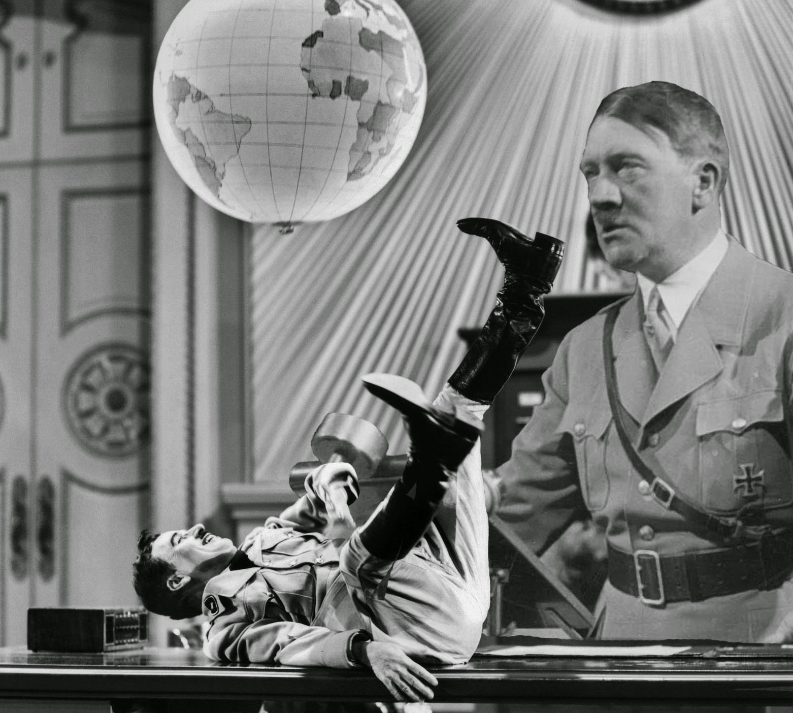 The Tramp and the Dictator Charlie Chaplin Adolf Hitler The Great Dictator
