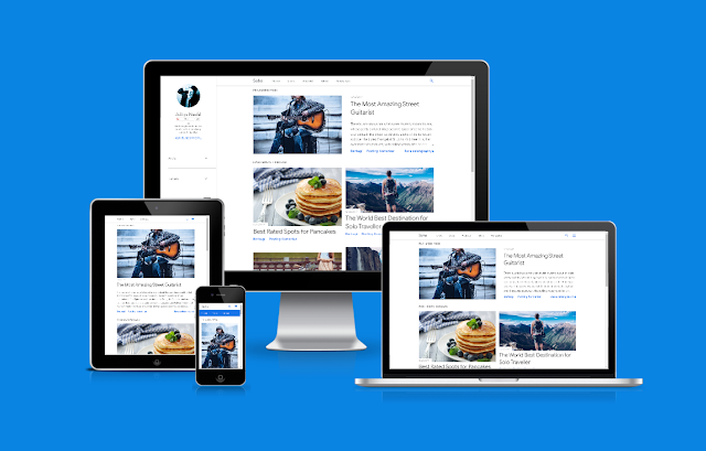 Soho Responsive Default Blogger Template