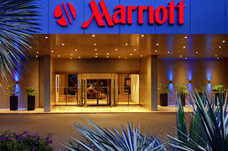 Marriott entrance building image - Marriott hacked story