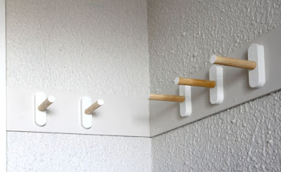 Wandgarderobe zum Selbermachen - die beste Lösung für kleinen Flur