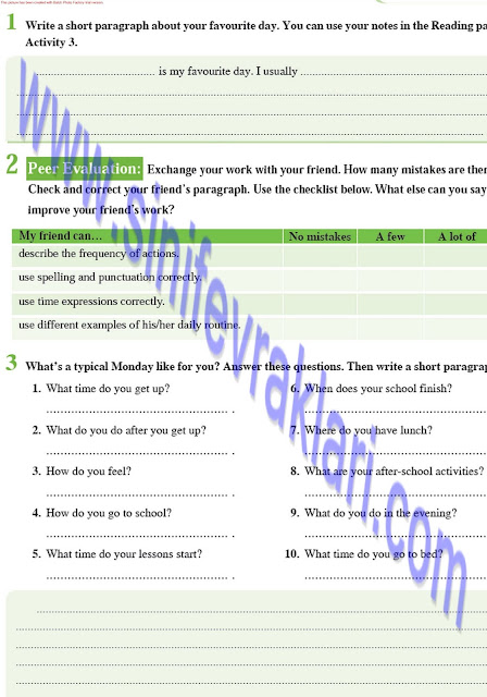 8. Sınıf İngilizce Ders Kitabı Cevapları Tutku Yayınları Sayfa 25