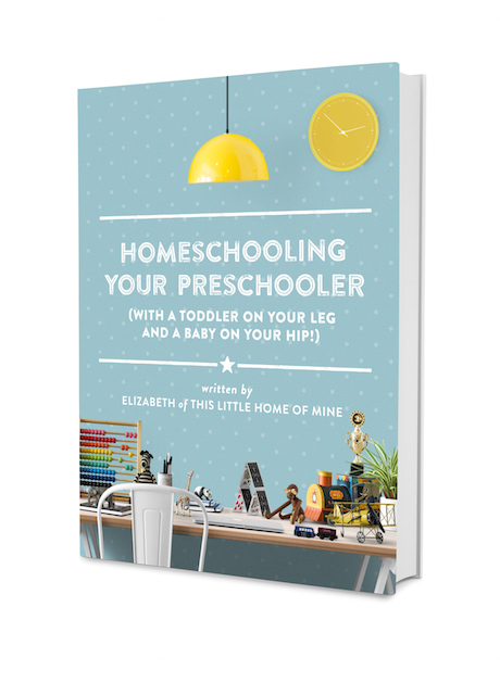 Homeschooling Your Preschooler (affiliate link)
