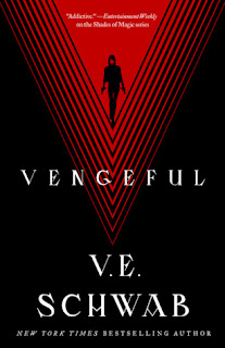 Vengeful, The Villains #2, V.E. Schwab, InToriLex