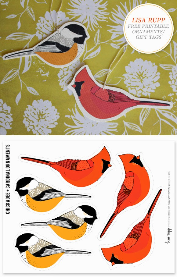 http://creaturecomfortsblog.com/home/2010/12/9/free-printable-bird-ornaments-gift-tags-by-lisa-rupp.html