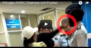 MIRIS! Oknum Istri Pejabat Menampar Petugas Bandara, Lihat Nih Video Viralnya