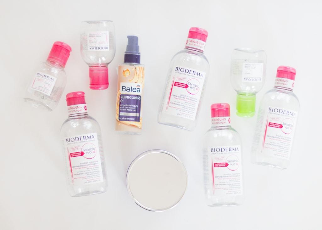 Aufgebrauchte Kosmetikprodukte Juni 2017 Gesichtsreinigung