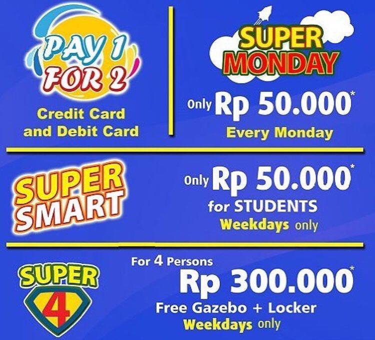GoWet - Promo Pay 1 For 2 Kartu Debit / Kredit BCA , Mandiri, Permata & BNI