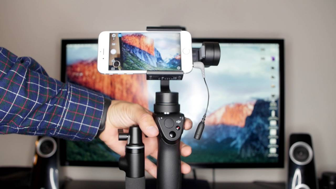 DJI Osmo Mobile 2 Smartphone Gimbal - Esarofh