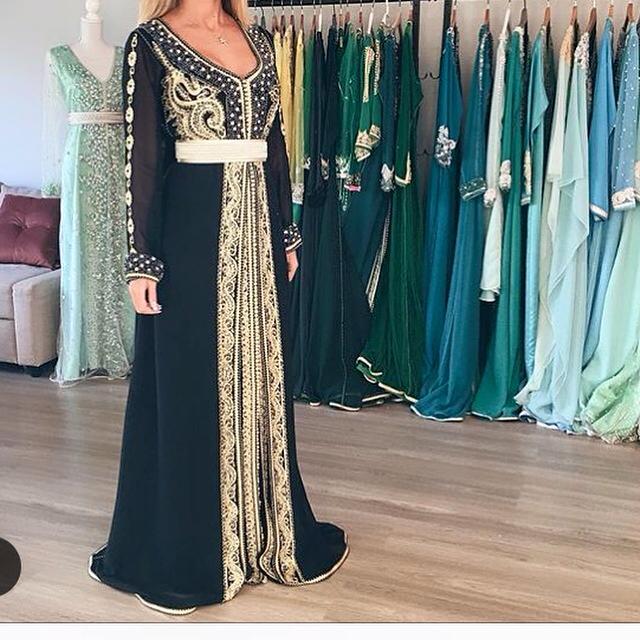 Caftan moderne 2017 2016 boutique paris fes caftan marocain de lu - Boutique de caftan marocain a paris ...