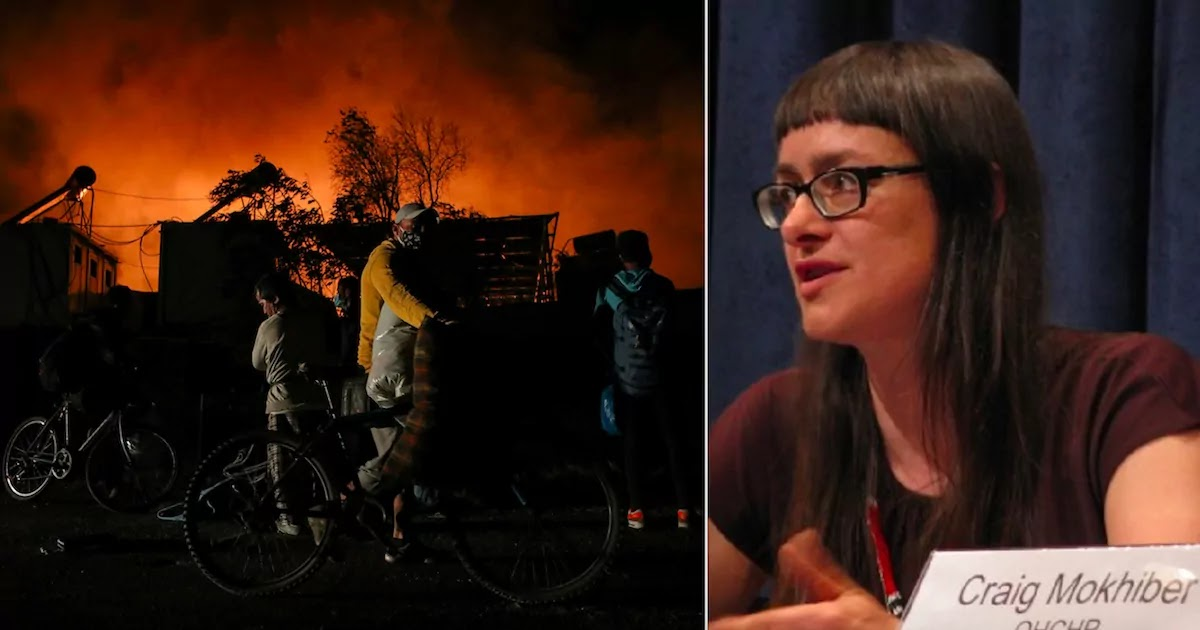 German Activist Claims That Fires In Greece's Moria Refugee Camp Were Started By NGOs And That Residents Own Turkish Supplied Weapons