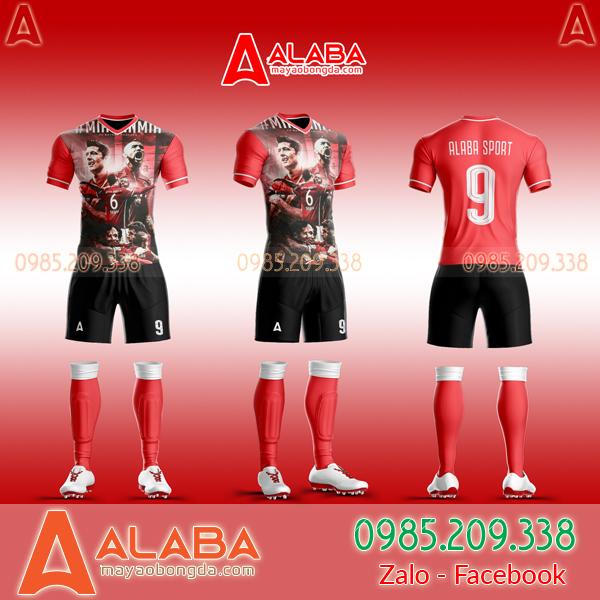 Áo Bayern Tự Thiết Kế Đẹp 2019 mã ALB BA01
