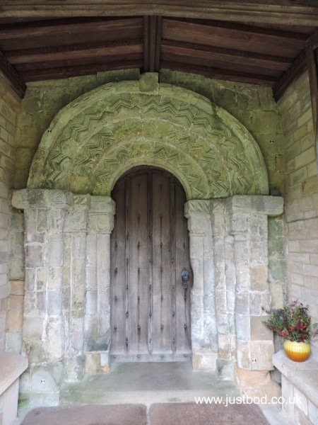 Doorway St Marys Church Fridaythorpe