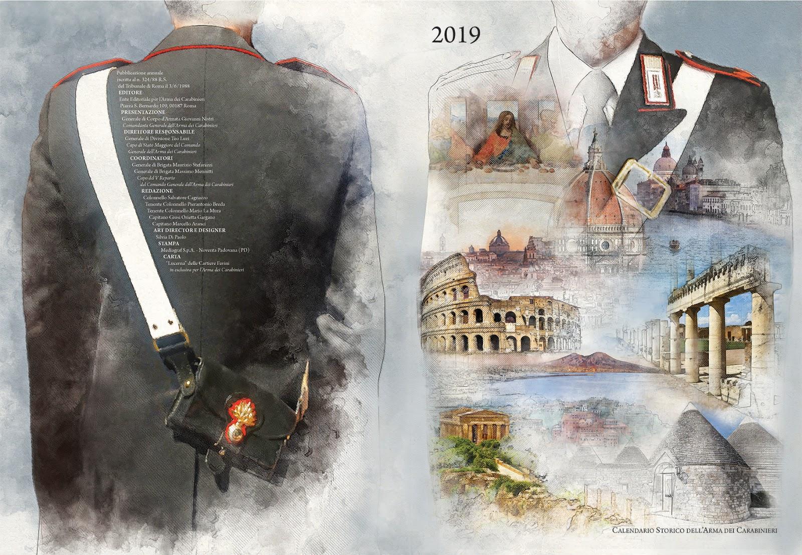 Pagina Di Calendario Luglio 2019.Presentato Il Calendario Storico E L Agenda Storica 2019