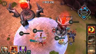 Free Download Game Legendary Heroes MOBA V2.2.3 MOD Apk