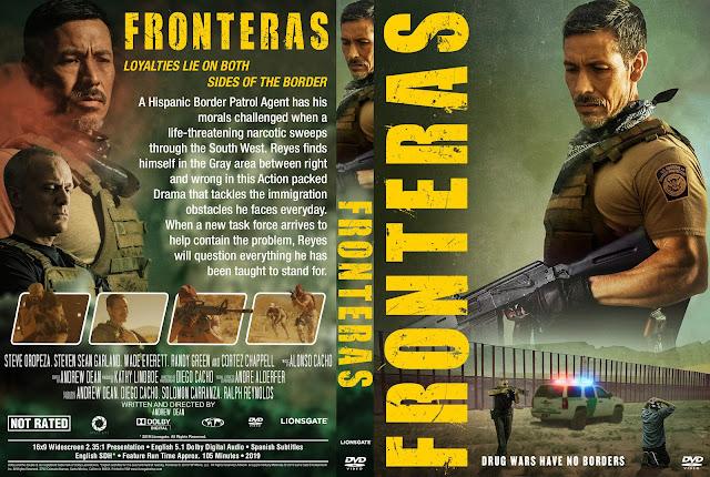 Fronteras DVD Cover