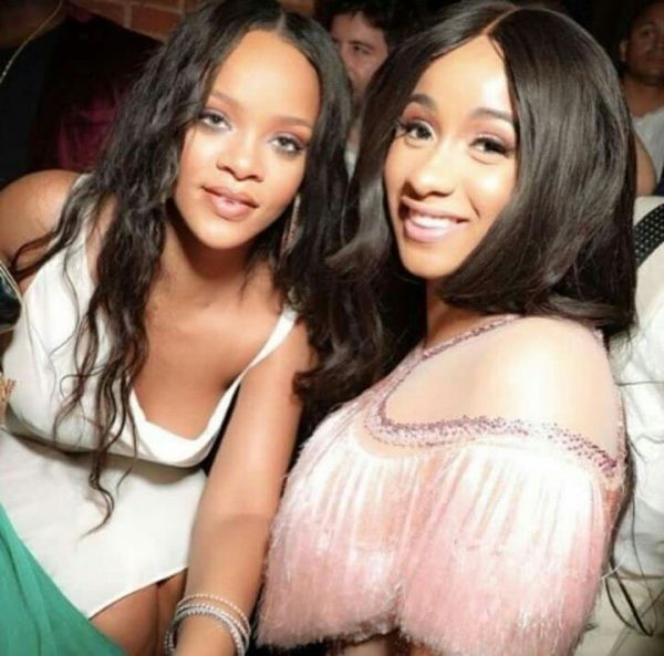 Rihanna unfollows Cardi B on Instagram