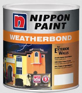 harga cat nippon paint aquamarine