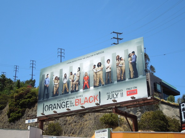 Orange is the new Black billboard