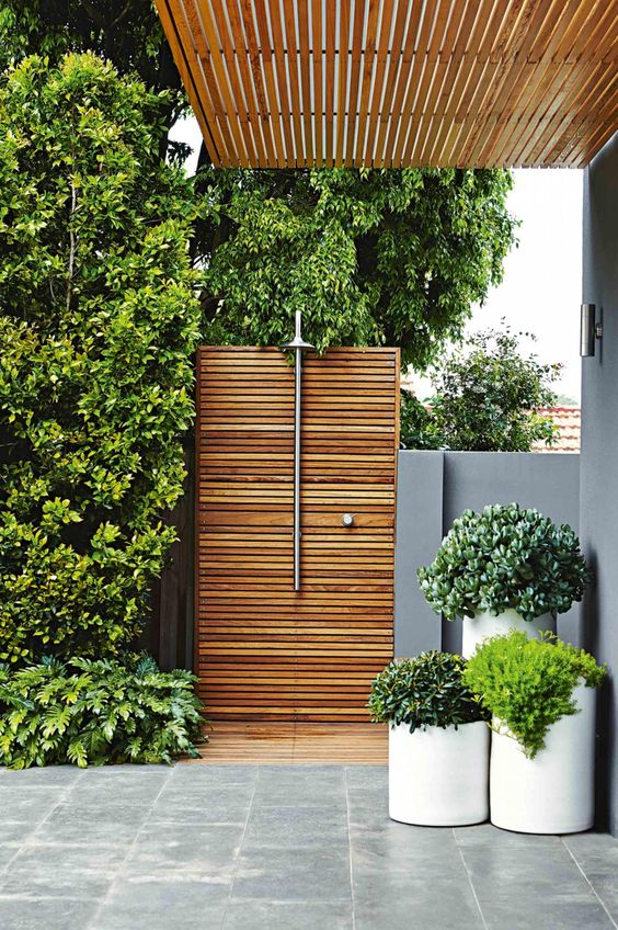 10 Inspiring Outdoor Shower Ideas- design addict mom