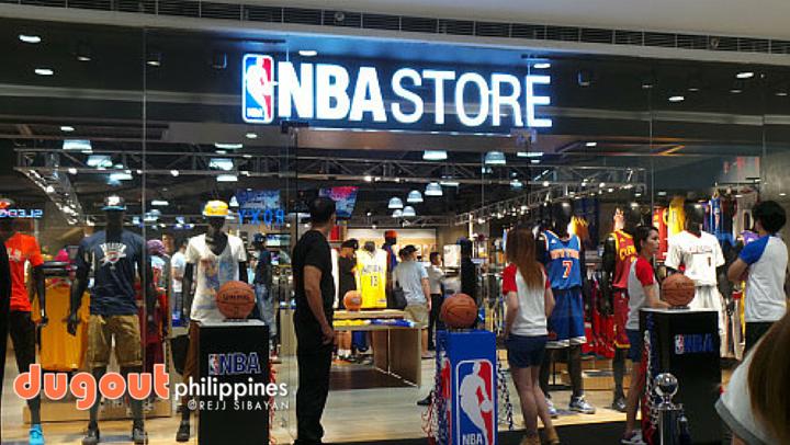 NBA Store opens Megamall branch b4d05a7d49d