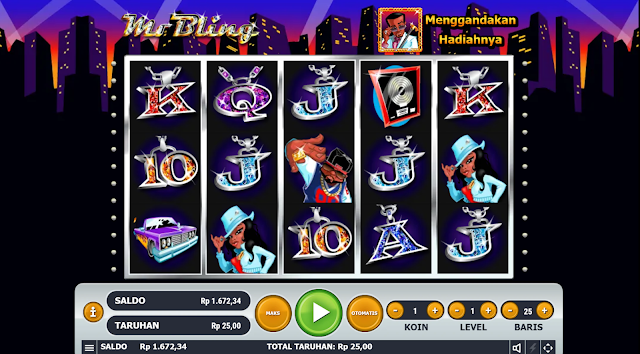 SITUS AGEN SLOT MR BLING GAMES HABANERO
