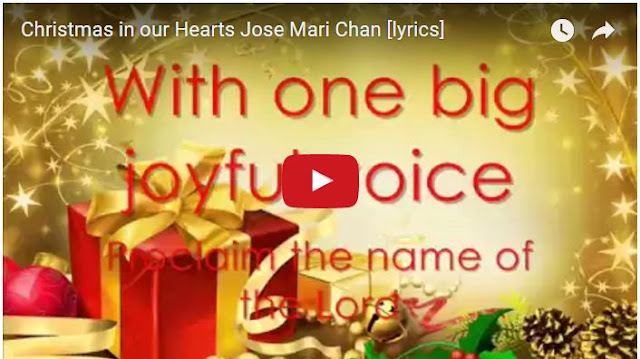 christmas songs of jose mari chan with lyrics best christmas song - Best Christmas Lyrics