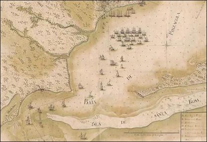 bahía de Pensacola, Yo solo, Bernardo de Gálvez, Galvestown, Galveztown