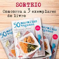 """Sorteio do livro """"50 Marmitas Veganas"""""""