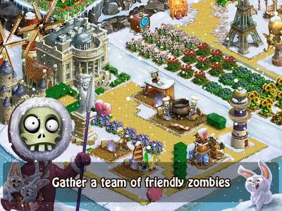 تحميل لعبة الاستراتيجية الممتعة Zombie Castaways النسخة المهكرة للاجهزة الاندرويد